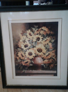 Large Sunflower Picture