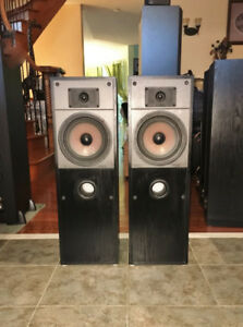 Made In England Mission Floor Standing Speakers 763
