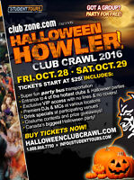 2016 Halloween Club Crawl FUN jobs in Vancouver. Apply Now!