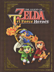 NEW The Legend of Zelda Tri Force Heroes Collector's Guide BOOK