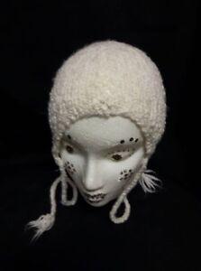 White Knit Hat