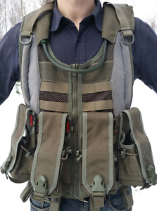 Milsig Vest and Gear - Paintball - Airsoft -