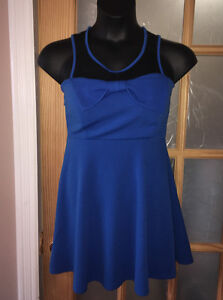Blue dress-size L