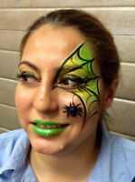 FACE PAINTING, AIRBRUSH TATTOOS, and BODY PAINTING