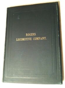 1893 ROGERS LOCOMOTIVE COMPANY PATERSON, NEW JERSEY, Trains