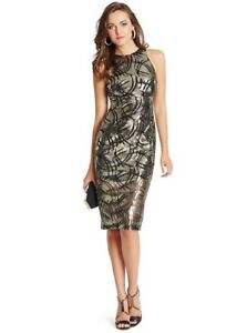 Magnifique Robe paillette Marciano Guess 6 ans small