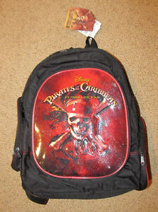 Back Pack Brand New Pirates of the Caribbean