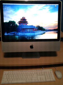 """20"""" iMac with Mouse and keyboard"""
