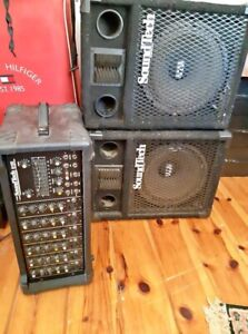 SoundTech 6150 High end amp and speakers
