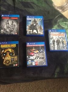 Rarely used PS4 games for sale! $10-50, OBO Cambridge Kitchener Area image 1