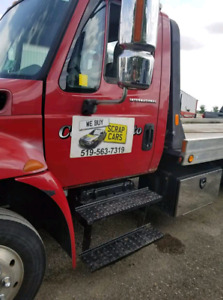 CASH PAID FOR SCRAP AUTOS FORKLIFT FREE TOWING