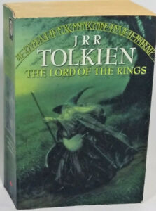 Lord of the Rings Book 1995 Paper Back Edition JRR Tolkien