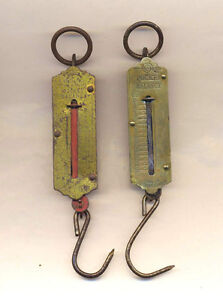 COLLECTIBLE POCKET BALANCE FISHING SCALES GERMAN AND CZECH London Ontario image 1