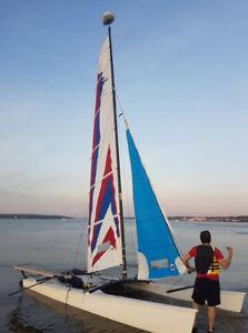 catamaran hobie cat 17