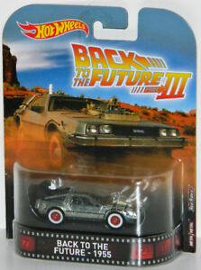 Hot Wheels Retro 1/64 Back To The Future III 1955 Diecast Car
