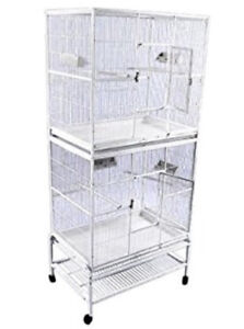 Used two tiered bird cage for sale