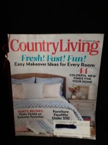 July August Country Living