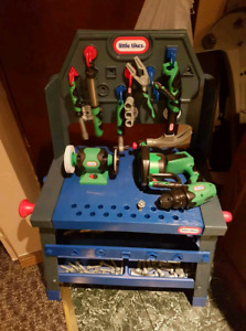 Little Tykes Toolchest and tools