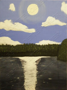 Sunset & Other Original Paintings Windsor Region Ontario image 1