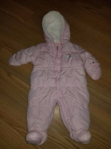 BRAND NEW Child OF Mine Made By Carter's Snowsuit Size 0-3M