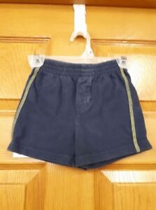 Boys Blue and Yellow Shorts Size: 18 Months