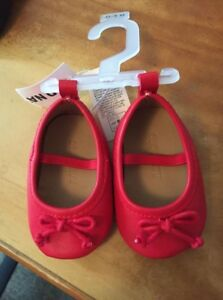 Red Mary Jane Style Shoes New W/ Tags