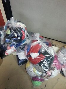 Bags of cleaning rags