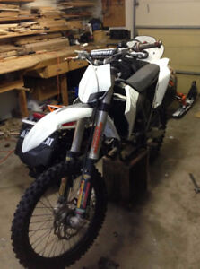 Parting out 2009 KTM 450 and 4CS fork springs for sale