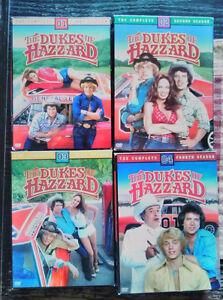 Dukes of Hazzard seasons 1-4