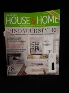 August 2012 Canadian House & Home