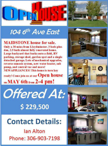 Maidstone house for sale $1000 finders fee