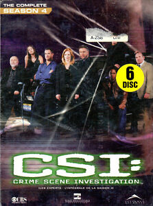 CSI (Las Vegas) complete Season 4 (new in sealed box)