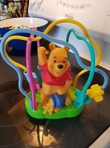 Winnie the Pooh toy. Never played with, just in storage