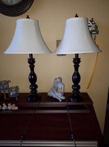 2 Table lamps Works great