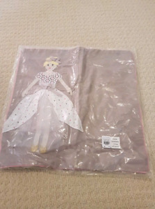Pottery barn kids princess cushion cover new