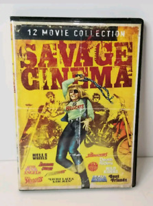 Savage Cinema - 3 dvd's and 12 movie collection.