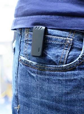 Belt Clip Digital Hidden Spy Bug Room Personal 140 hours Audio Recorder 8 GB