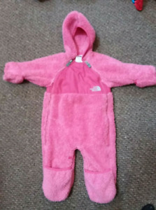 North Face bunting suit 3-6 months