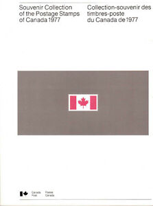 Collection Canada 1977 (timbres/stamps)