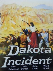 DAKOTA INCIDENT (DVD 1956 Dale Robertson Linda Darnell)