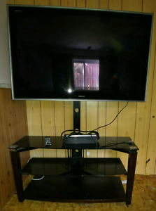 "65"" Toshiba LCD Flat screen TV with stand"