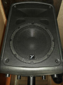 Two Yorkville Colliseum C170P powered P.A. Speakers