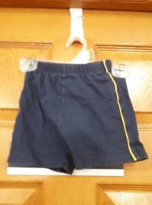 Boys Blue & Yellow Shorts Size: 12Months