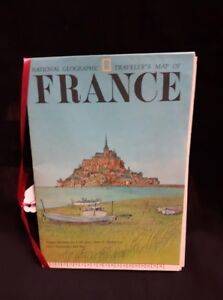 National Geographic Traveller's Map of France