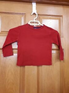 Red Sonoma Shirt Size: 4