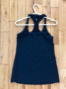 Lululemon Women's Black Racerback Tank Top