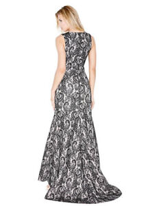 GORGEOUS ELEGANT GOWN WITH TRAIN - perfect for prom or wedding!