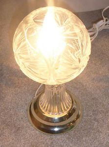 Crystal lamp in very good condition