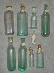 Bunch of old bottles and jars