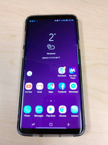 Samsung Galaxy S9+ 64GB Factory Unlocked SM-965U1
